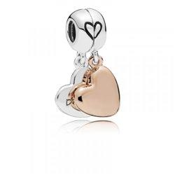 Collar pluma Pandora 397197CBK mujer plata