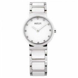 Reloj Bering 11930‐334 Mujer Blanco Classic Collection Cuarzo