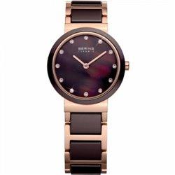 Reloj Bering 11935‐000 Mujer Blanco Titanium Collectión Cuarzo