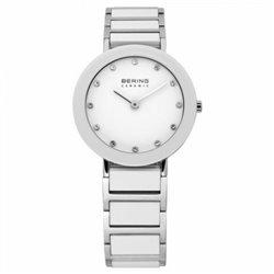 Reloj Bering 12927‐334 Mujer Blanco Classic Collection Cuarzo