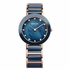 Reloj Bering 13427‐000 Mujer Blanco Classic Collection Cuarzo