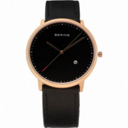 Reloj Bering 11139‐462 Caballero Negro Classic Collection Cuarzo