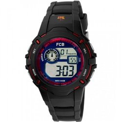 Reloj  Viceroy 40461-75 Hombre Rojo Caucho Cronógrafo
