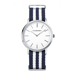 Reloj  Viceroy 432355-04 Niño Blanco Caucho Cuarzo