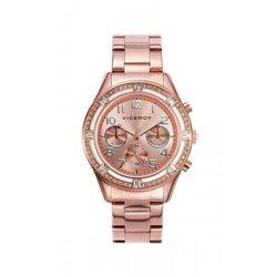 Reloj Bering Classic Collection 11935-334 Mujer Acero Amarillo Cuarzo