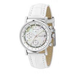 Reloj Emporio Armani AR5884 Mujer Nácar Caucho Cronógrafo