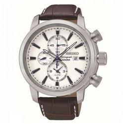Reloj Seiko SPC153P1 Hombre Negro Neo Classic Cronógrafo