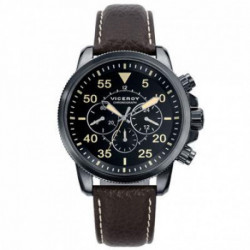 Reloj Viceroy 47833-04 Hombre Negro Cronógrafo Cuarzo