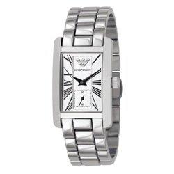 Reloj Emporio Armani AR0272 Hombre Negro Rectangular Cuarzo