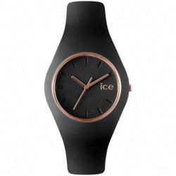 Reloj Ice-Watch Glam ICE.GL.BRG.S.S.14 Mujer Negro Silicona