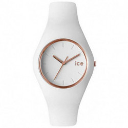 Reloj Ice-Watch Glam ICE.GL.WRG.U.S.14 Mujer Blanco Silicona
