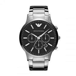 Reloj Fossil JR1457 Hombre Negro Acero Cronógrafo